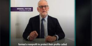 Wendell Potter debunks industry ad.